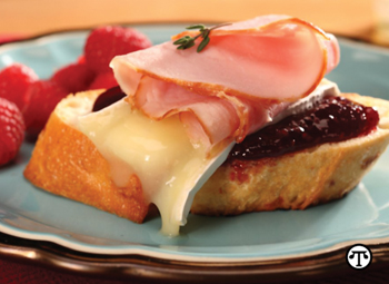 This Ham & Brie Crostini is just one of the delightful appetizers you can create.