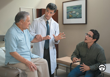 It's important for caregivers to know how to properly communicate with their loved one's doctor.