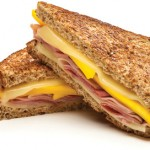 Give your lunch a punch of pizzazz: Have a ham, cheese and mango sandwich.