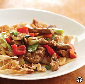 Introduce new flavors and vegetables with a healthy stir-fry.