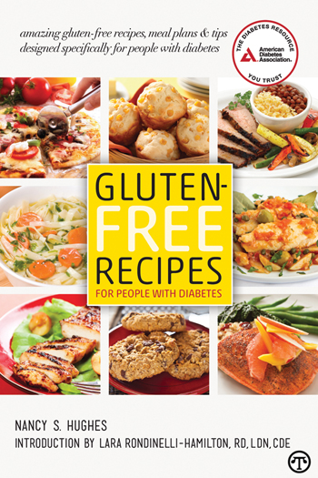 Diabetes-friendly recipes, meal plans, strategies and tips for diabetes and celiac disease or gluten intolerance in a new guide.