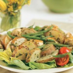 A Potato and Pesto Chicken Salad can be an indulgent way to get the nutrients you need.
