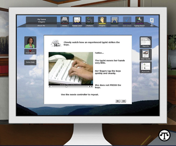The latest edition of a software learning system uses a success-based approach to teaching typing.