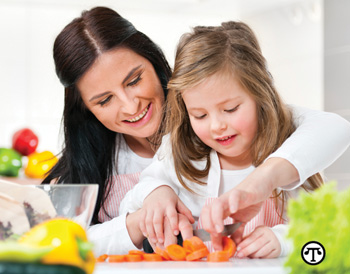 When kids participate in meal preparations, they may develop a greater appreciation of wholesome, healthful foods.