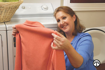 You can use advanced patented cleaning technology and your own dryer to gently and safely clean.