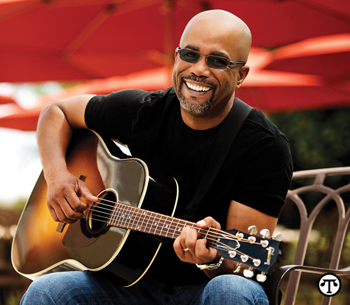 According to singer Darius Rucker, the ability to see clearly is a big part of playing music and connecting with family and friends.