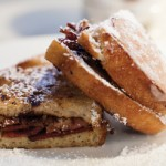 Duck Bacon and Brie Cheese Stuffed French Toast can be a delicious way to start the day.